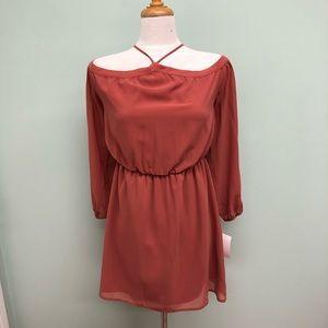 Wayf | Women's Halter Dress | Auburn